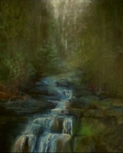 (F) Roaring Brook Falls