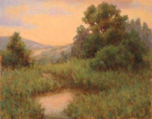 Golden Dusk 11 x 14 Oil