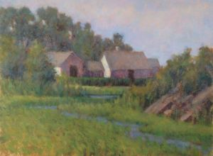 Morning on the Marsh 9 x 12 Oil