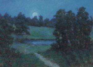 Saratoga Nocturne 18 x 24