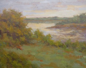 September Evening 9 x 12 Oil