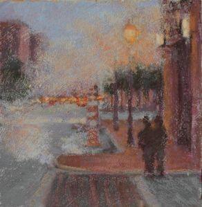 Steaming Sidewalk