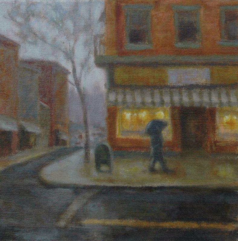 Rain on Broadway