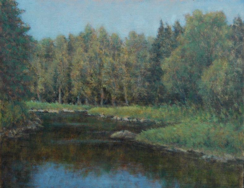 Oil on Panel 9 x 12